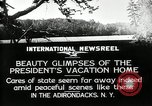Image of Adirondacks Mountains Paul Smiths New York USA, 1926, second 2 stock footage video 65675068977