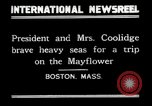 Image of President Calvin Coolidge in Boston Boston Massachusetts USA, 1926, second 3 stock footage video 65675068979