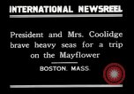 Image of President Calvin Coolidge in Boston Boston Massachusetts USA, 1926, second 5 stock footage video 65675068979