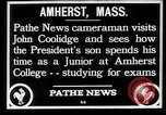 Image of John Coolidge Amherst Massachusetts USA, 1926, second 2 stock footage video 65675068980