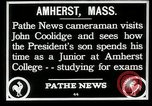 Image of John Coolidge Amherst Massachusetts USA, 1926, second 3 stock footage video 65675068980