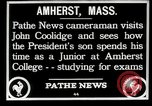 Image of John Coolidge Amherst Massachusetts USA, 1926, second 5 stock footage video 65675068980