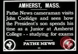 Image of John Coolidge Amherst Massachusetts USA, 1926, second 8 stock footage video 65675068980