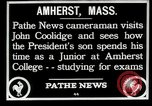 Image of John Coolidge Amherst Massachusetts USA, 1926, second 9 stock footage video 65675068980
