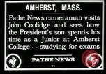Image of John Coolidge Amherst Massachusetts USA, 1926, second 11 stock footage video 65675068980