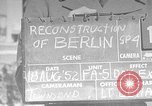 Image of reconstruction of Berlin Berlin Germany, 1952, second 1 stock footage video 65675068991