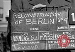 Image of reconstruction of Berlin Berlin Germany, 1952, second 2 stock footage video 65675068991