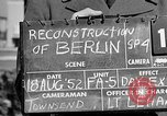 Image of reconstruction of Berlin Berlin Germany, 1952, second 3 stock footage video 65675068991