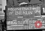 Image of reconstruction of Berlin Berlin Germany, 1952, second 4 stock footage video 65675068991