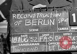 Image of reconstruction of Berlin Berlin Germany, 1952, second 5 stock footage video 65675068991