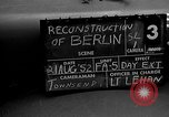 Image of reconstruction of Berlin Berlin Germany, 1952, second 6 stock footage video 65675068993