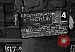 Image of reconstruction of Berlin Berlin Germany, 1952, second 6 stock footage video 65675068994