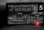 Image of reconstruction of Berlin Berlin Germany, 1952, second 1 stock footage video 65675068995