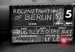 Image of reconstruction of Berlin Berlin Germany, 1952, second 5 stock footage video 65675068995