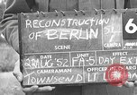 Image of reconstruction of Berlin Berlin Germany, 1952, second 1 stock footage video 65675068996