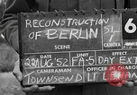 Image of reconstruction of Berlin Berlin Germany, 1952, second 2 stock footage video 65675068996