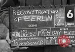 Image of reconstruction of Berlin Berlin Germany, 1952, second 5 stock footage video 65675068996