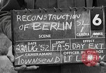 Image of reconstruction of Berlin Berlin Germany, 1952, second 6 stock footage video 65675068996