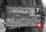 Image of reconstruction of Berlin Berlin Germany, 1952, second 3 stock footage video 65675068997