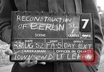 Image of reconstruction of Berlin Berlin Germany, 1952, second 6 stock footage video 65675068997