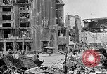 Image of Berlin Potsdamer Platz ruins at end of World War 2 Berlin Germany, 1945, second 5 stock footage video 65675068998