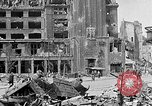 Image of Berlin Potsdamer Platz ruins at end of World War 2 Berlin Germany, 1945, second 6 stock footage video 65675068998