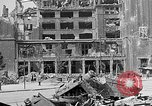 Image of Berlin Potsdamer Platz ruins at end of World War 2 Berlin Germany, 1945, second 8 stock footage video 65675068998