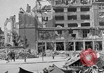 Image of Berlin Potsdamer Platz ruins at end of World War 2 Berlin Germany, 1945, second 9 stock footage video 65675068998