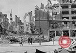 Image of Berlin Potsdamer Platz ruins at end of World War 2 Berlin Germany, 1945, second 10 stock footage video 65675068998