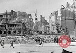 Image of Berlin Potsdamer Platz ruins at end of World War 2 Berlin Germany, 1945, second 11 stock footage video 65675068998