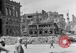 Image of Berlin Potsdamer Platz ruins at end of World War 2 Berlin Germany, 1945, second 12 stock footage video 65675068998