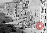 Image of bombed buildings Berlin Germany, 1945, second 9 stock footage video 65675069003