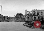 Image of bombed buildings Berlin Germany, 1945, second 6 stock footage video 65675069006