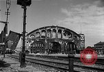 Image of bombed station Berlin Germany, 1945, second 5 stock footage video 65675069007