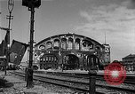 Image of bombed station Berlin Germany, 1945, second 7 stock footage video 65675069007