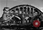Image of bombed station Berlin Germany, 1945, second 9 stock footage video 65675069007