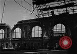Image of bombed station Berlin Germany, 1945, second 10 stock footage video 65675069007
