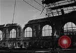 Image of bombed station Berlin Germany, 1945, second 12 stock footage video 65675069007