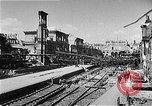 Image of bombed railway station Berlin Germany, 1945, second 4 stock footage video 65675069009