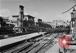 Image of bombed railway station Berlin Germany, 1945, second 6 stock footage video 65675069009