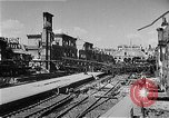 Image of bombed railway station Berlin Germany, 1945, second 7 stock footage video 65675069009