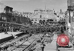 Image of bombed railway station Berlin Germany, 1945, second 12 stock footage video 65675069009
