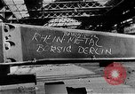 Image of bombed Reihn Metal Plant Berlin Germany, 1945, second 1 stock footage video 65675069010