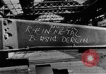 Image of bombed Reihn Metal Plant Berlin Germany, 1945, second 4 stock footage video 65675069010