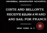 Image of Dieudonne Costes New York United States USA, 1930, second 8 stock footage video 65675069012