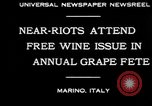 Image of annual Grape Festival Marino Italy, 1930, second 6 stock footage video 65675069013