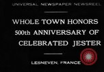Image of 500th anniversary of Salaun de Foll Lesneven France, 1930, second 1 stock footage video 65675069016
