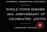 Image of 500th anniversary of Salaun de Foll Lesneven France, 1930, second 2 stock footage video 65675069016