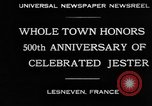 Image of 500th anniversary of Salaun de Foll Lesneven France, 1930, second 4 stock footage video 65675069016
