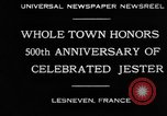 Image of 500th anniversary of Salaun de Foll Lesneven France, 1930, second 6 stock footage video 65675069016